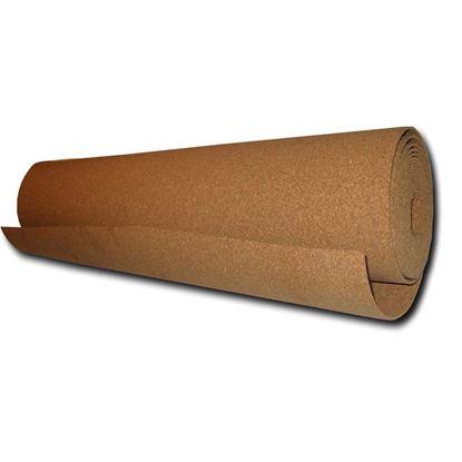 Immagine di Isolante Isosughero, termo-acustico, in agglomerato di sughero naturale, m 10xh100 cm, spessore 4 mm