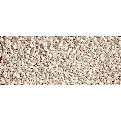 Immagine di Granulato Zandobbio, bianco, 8/12 mm, confezione 20 kg