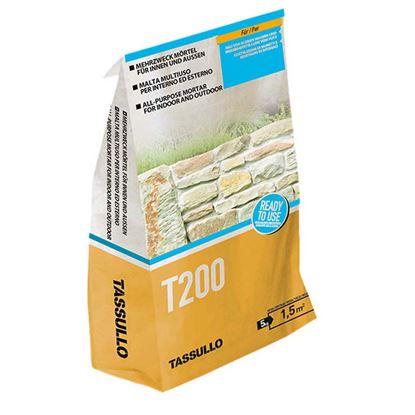 Immagine di Malta Tassullo, da allettamento/muratura, professionale, pronto uso, confezione 5 kg
