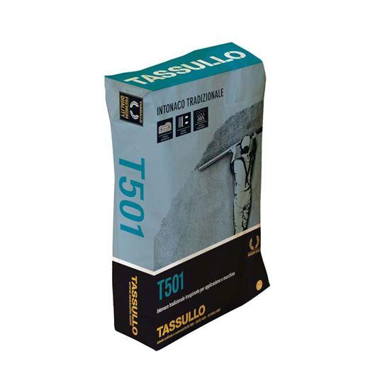 Immagine di Intonaco Tassullo, premiscelato per interni ed esterni, confezione 30 kg
