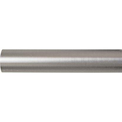 Immagine di Bastone tenda, Easy Contemporaneo, in ferro, Ø mm 20x160 cm, nickel
