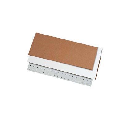 Immagine di Faesite, colore bianco, sezione, 3x1010x600 mm