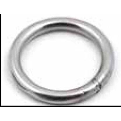 Immagine di Anelli tondi, acciaio inox AISI 316, 5x25 mm, 2 pezzi