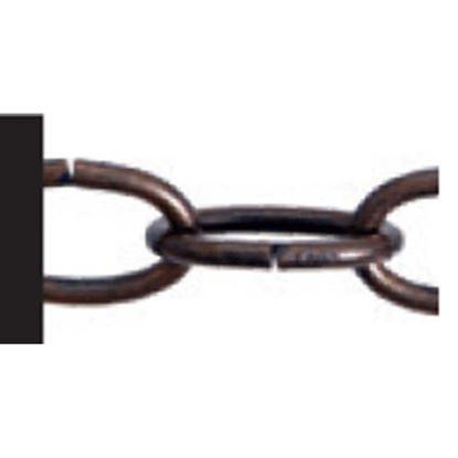 Immagine di Catena decorazione ovale, non saldata, bronzato, 2,7 mm