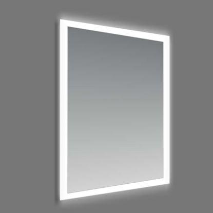 Immagine di Specchio Lux, 60x80 cm, filo lucido cornice satinata, retroilluminata con led