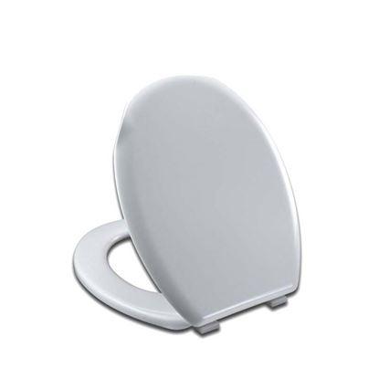 Immagine di Sedile WC Cefalo, universale, in termoplastico, PP, colore bianco