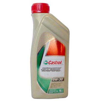 Immagine di Olio Castrol, Edge, SAE 0W-30, lubrificante sintetico, per motori diesel e benzina, 1 lt