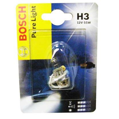 Immagine di Lampadina Bosch, Pure Light, per auto, 12 V-55 W, H3