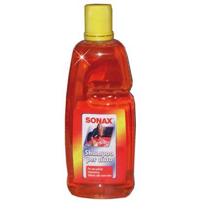 Immagine di Shampoo Sonax, concentrato, per la pulizia dell'auto, scioglie la sporcizia rapidamente e a fondo, 1 lt