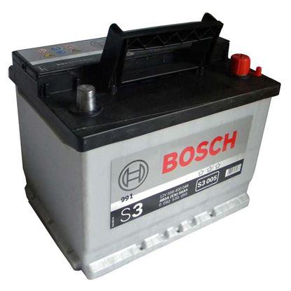 Immagine di Batteria auto Bosch, S3-56 Ah, spunto 480 A, 56 ah dx