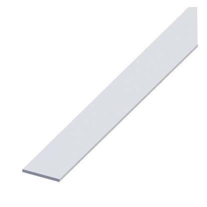 Immagine di Barra piatta alluminio argento, 25x2 mm, 2,0 mt