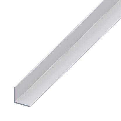 Immagine di Angolare alluminio argento, 20x20x1,4 mm, 1 mt