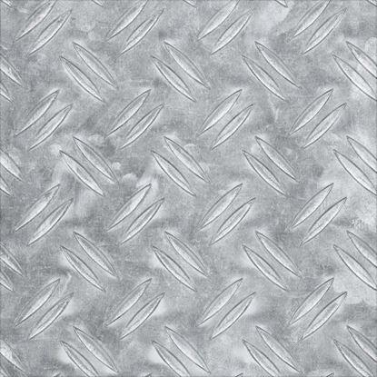 Immagine di Lamiera mandorlata, alluminio naturale, 300x1000x2,0 mm
