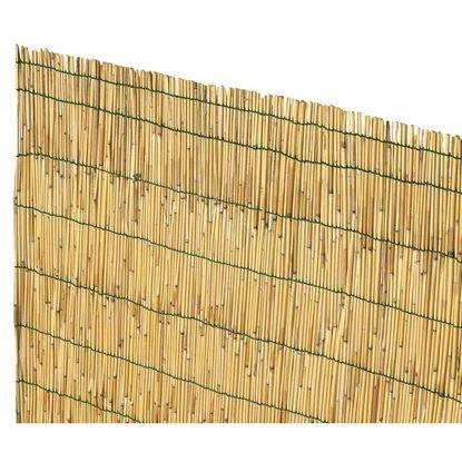 Immagine di Arella cina in canna di bamboo pelato d.4-5mm legate con filo plastica 12x3 mt
