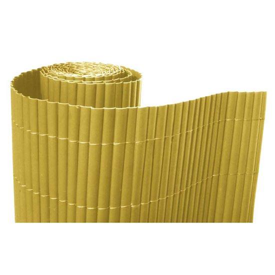 Immagine di Arella in plastica, Simple, con listelli monofacciali da 20 mm, legati con filo in poliestere, 1x3 mt