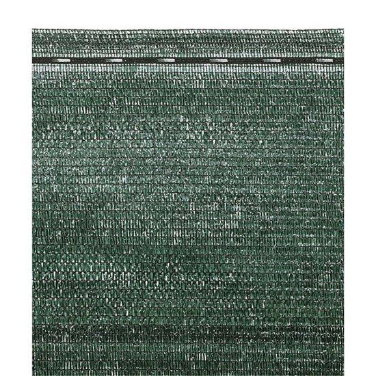 Immagine di Tessuto ombreggiante, accoppiato, 280 gr/m² circa, in piattina di polietere, capacità schermante del 100%, 1,5x3 mt
