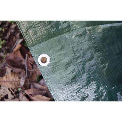 Immagine di Telo ochhiellato multiuso verde, 5x6 mt