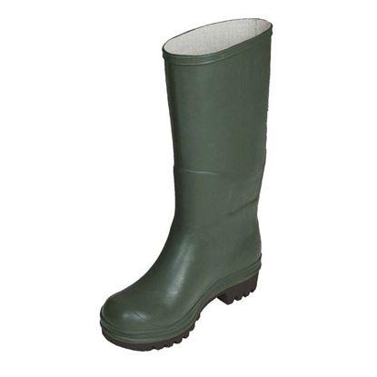 Immagine di Stivale ginocchio, in PVC, suola carrarmato, colore verde, misura 36