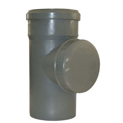 Immagine di Raccordo ispezione HTRE, in polipropilene, con tappo, Ø 50 mm