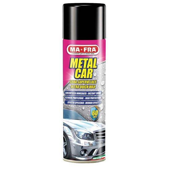 Immagine di Cera protettiva Ma-Fra, Metal Car, supercera per auto metallizzate, prodotto a base di acqua, spray 500 ml