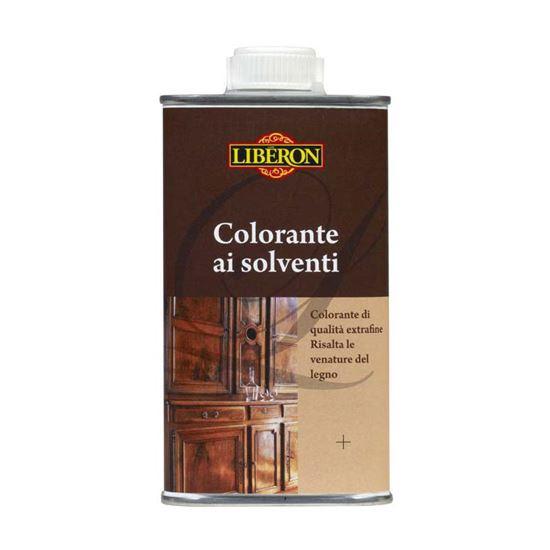 Immagine di Colorante ai solventi Liberon, per ravvivare o modificare la tinta dei legni, 250 ml, colore noce medio