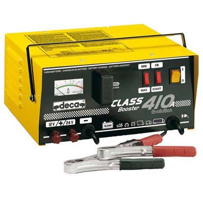 Immagine di Caricabatteria Deca, Class Booster 410 A, potenza 3,5 kW, corrente di avviamento 300 A, per batterie 12/24 V-15/500 Ah
