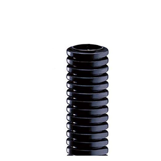 Immagine di Tubo corrugato, colore nero, senza tirafilo, bobina 50 mt, Ø 25 mm