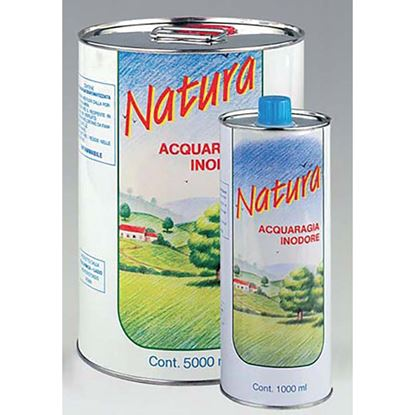 Immagine di Acqua ragia Natura, inodore, minerale denaturata, 1 lt