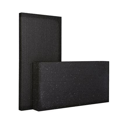 Immagine di Lastre in Blackpor, termoisolante con grafite, sinterizzato, a celle chiuse, autoestinguente classe E 1000x500x100 mm