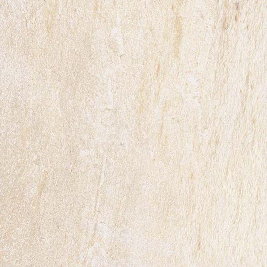 Immagine di Pavimento Asiago bianco, gres porcellanato, smaltato, ideale per esterno, confezione da 1,27 m², 34x34 cm