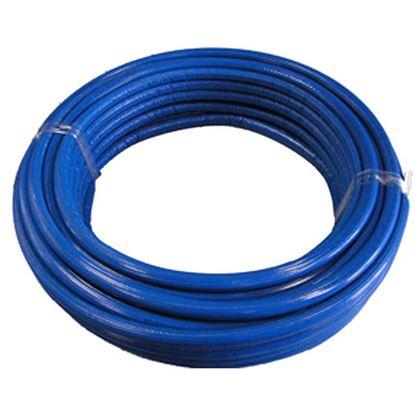 Immagine di Tubo multistrato, rivestito blu, 26x3, 50 mt