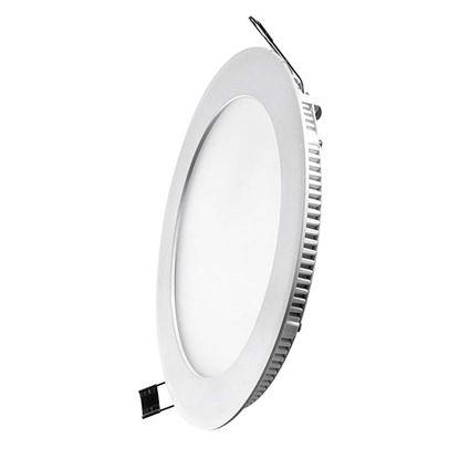 Immagine di Pannello tondo a LED, IP20, luce naturale, 18W, 1270 lumen