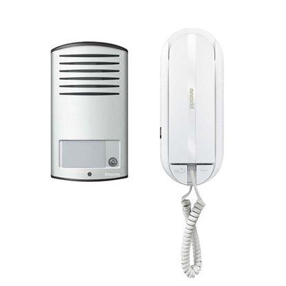 Immagine di Kit citofono, 2 fili, audio Sprint L2, monofamiliare
