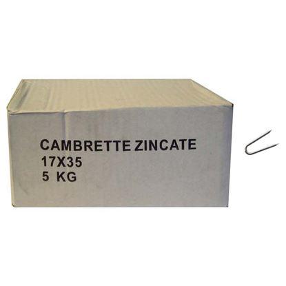 Immagine di Punte cambrette, kg 5, 12x20 mm