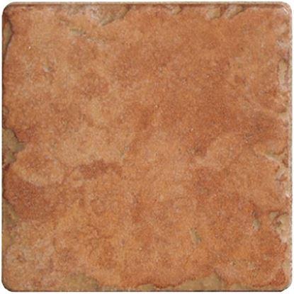 Immagine di Rivestimento monocottura, 10x10 cm, confezione 0,84 mq, 9 mm, calcao colore rosso