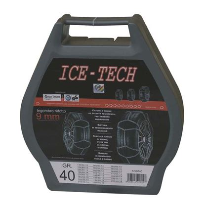 Immagine di CATENE NEVE 9 mm GR  50 ICE TECH