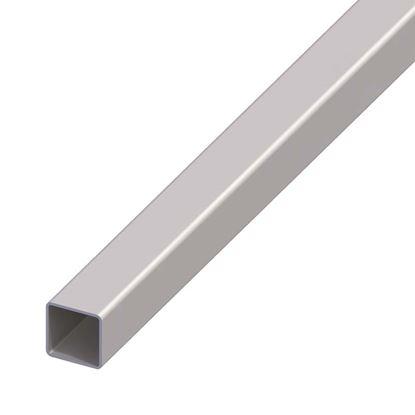 Immagine di Tubo quadrato acciaio, 1 mt,  30x30x1 mm