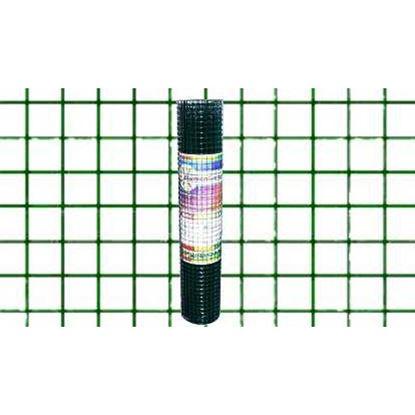 Immagine di Rete plastificata verde, maglia 13x13 mm, rotolo cm 60x10 mt