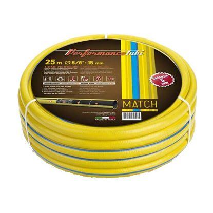 Immagine di Tubo Match 4 strati in PVC, filo elicoidale antitorsione, Ø25 mm, 50 mt