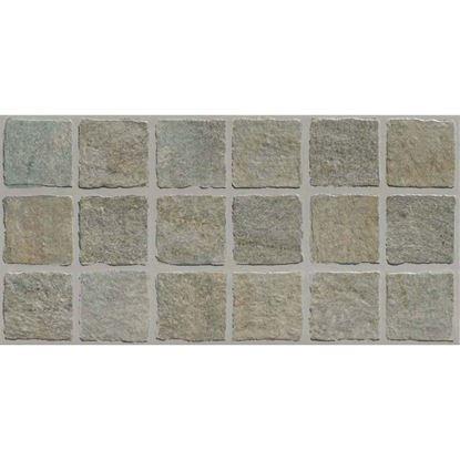 Immagine di Placchetta moda pavè 31x62 cm, gres porcellanato, confezione 1,35 m², colore grigio