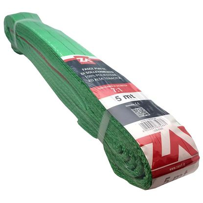 Immagine di Cinghia di sollevamento, verde, 75 mm, 4 mt
