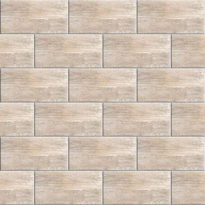 Immagine di Rivestimento  Tundra 26x52 cm, bicottura, confezione 2,18 m², colore beige