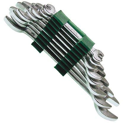 Immagine di Set 8 chiavi  fisse, 6-22 mm, in acciaio forgiato