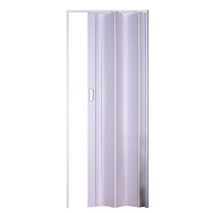 Immagine di Porta a soffietto, Elly, in pvc, con maniglia e scrocchetto, 83xh214 cm