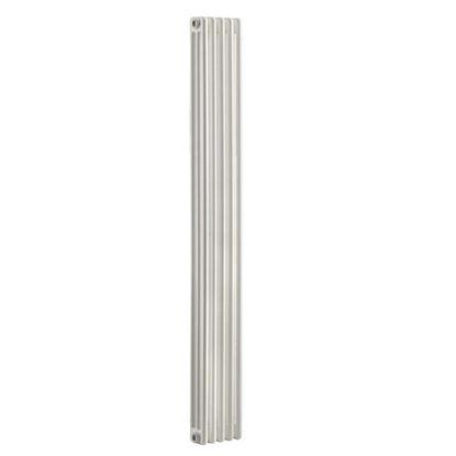 Immagine di Radiatore acciaio Warm Plus tubolare, interasse 1735 mm 3 colonne di profondità 5 elementi, 838 W, colore bianco ral 9010