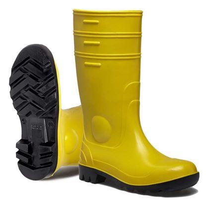 Immagine di Stivale ginocchio, Gorex, classe di protezione S5-SRC,soletta e puntale in acciaio, colore giallo, misura 46