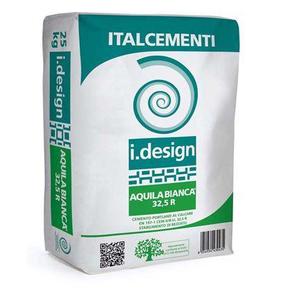 Immagine di Cemento bianco B/LL 32,5R, 18 kg