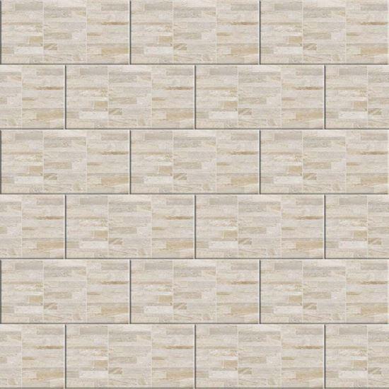 Immagine di Placchetta Modulare 30,2x60,4 cm, gres porcellanato, spessore 8 mm, confezione da 1,68 m², colore beige