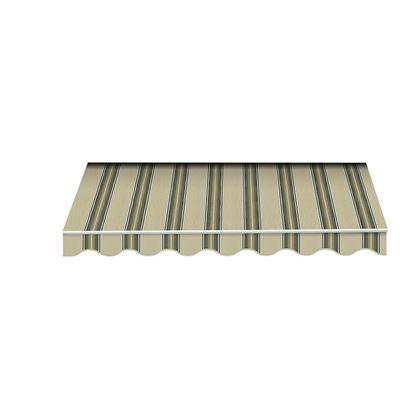 Immagine di Tenda da sole Itaca, tessuto in poliestere, 280 gr/m², 2x3 mt, colore beige/marrone