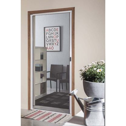 Immagine di Zanzariera a rullo, per finestra, orizzontale, col. bianco, 130x230 cm